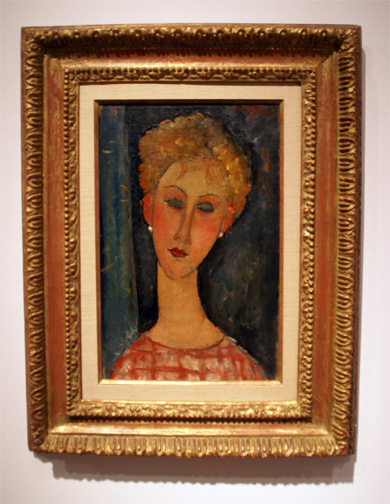 Portrait by Modigliani