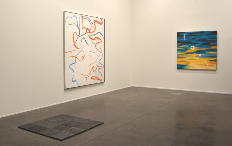 Works by Andre, de Kooning and Ruscha