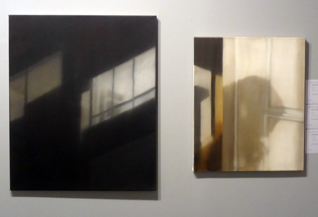 Two paintings by Bert de Beul