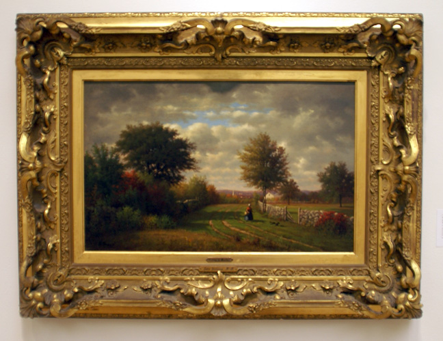 Landscape by Inness