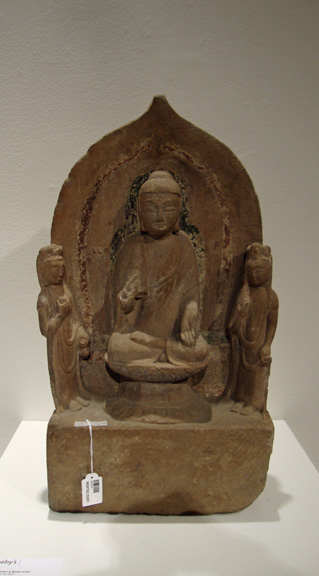 Carved stone stele, Tang Dynasty