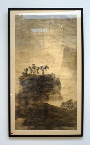 """Spring Mountains wrapped in Misty Fog"" by Li Huayi"