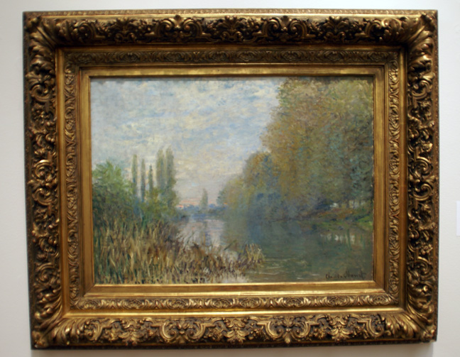 Riverscene by Monet