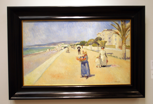 Beach scene by Munch