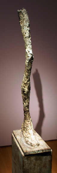 Leg sculpture by Giacometti