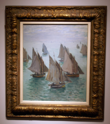 Monet sailboats