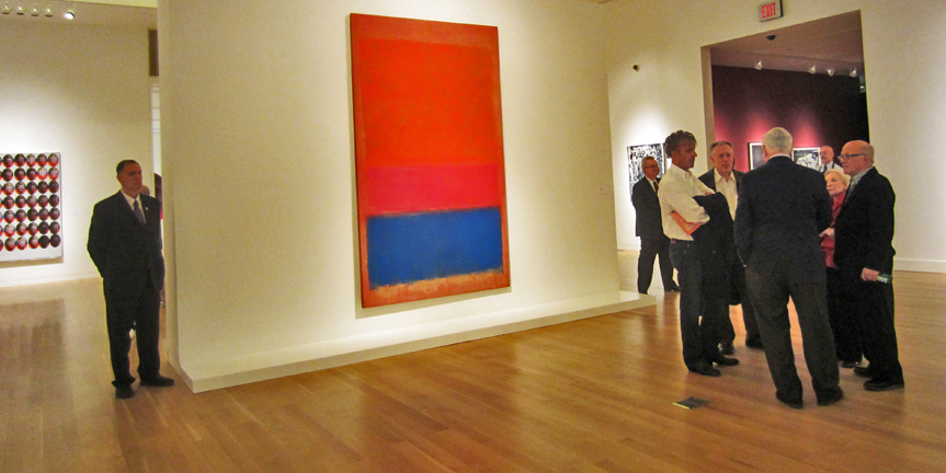 Rothko painting at Sotheby's
