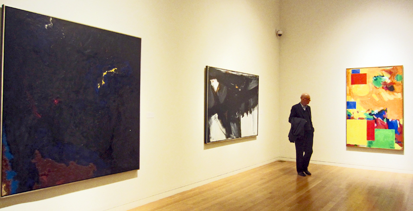 Paintings by Still, Kline and Hofmann