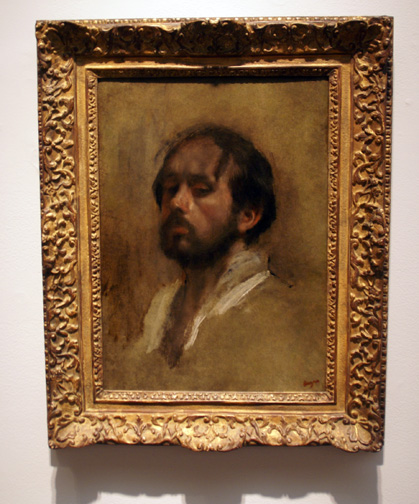 Se;f Portrait by Degas