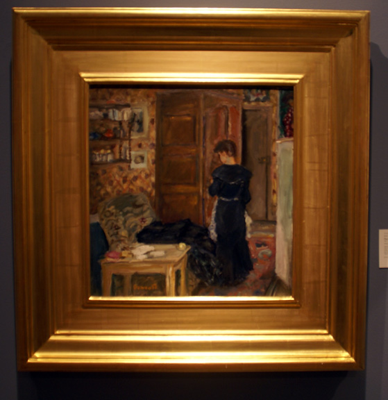Bonnard Lady interior