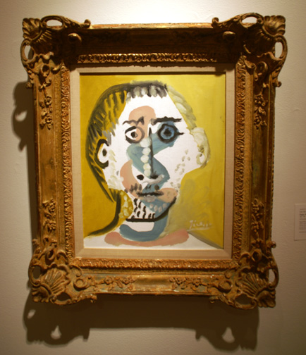 Portrait of a boy by Picasso