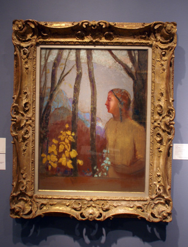 Flowers by Redon