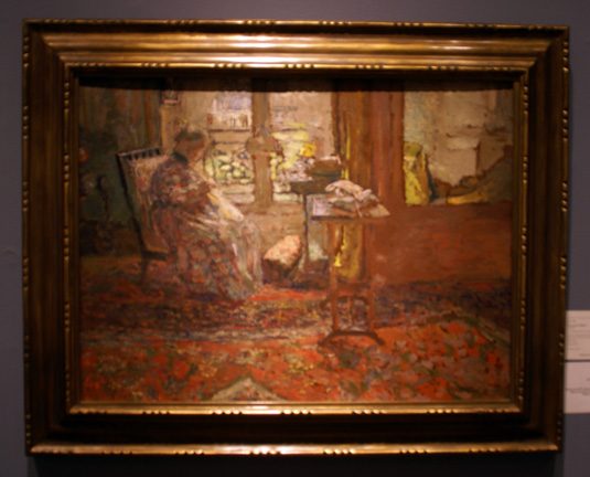 Vuillard woman interior