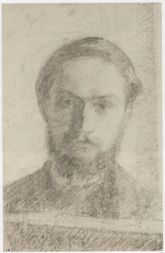 Self portrait drawing by Vuillard