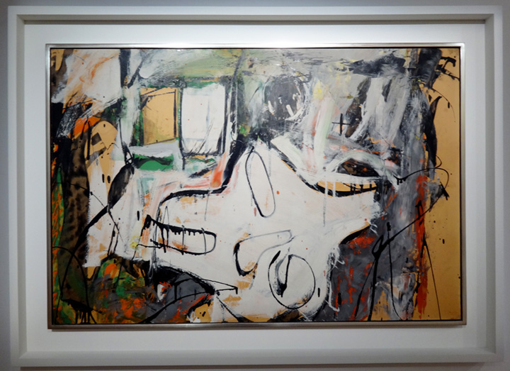 """Woman, Wind and Window"" by De Kooning"