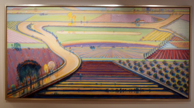 Landscape by Thiebaud