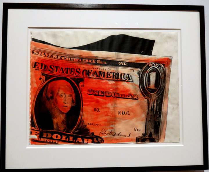 """One Dollar"" by Warhol"