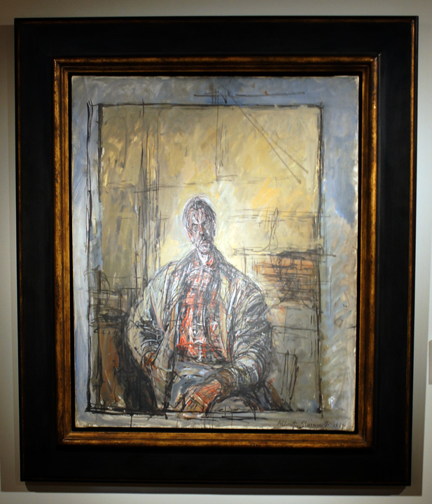 Portrait of Diego Giacometti