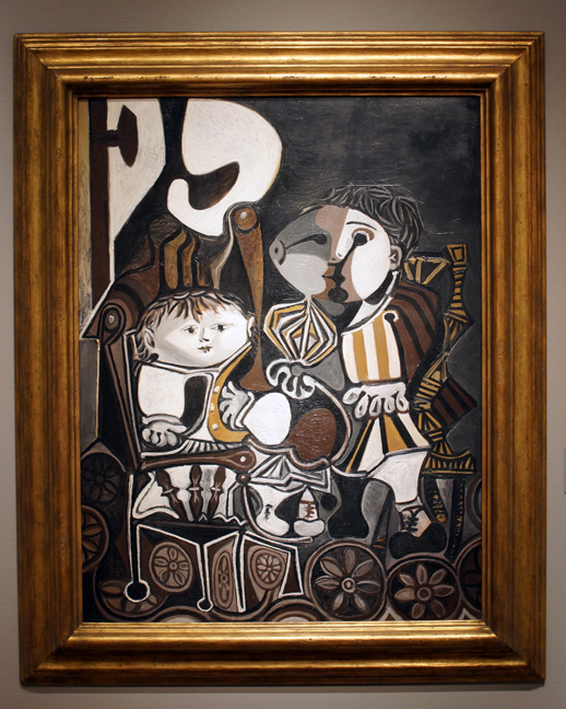 """Claude and Paloma,"" by Picasso"