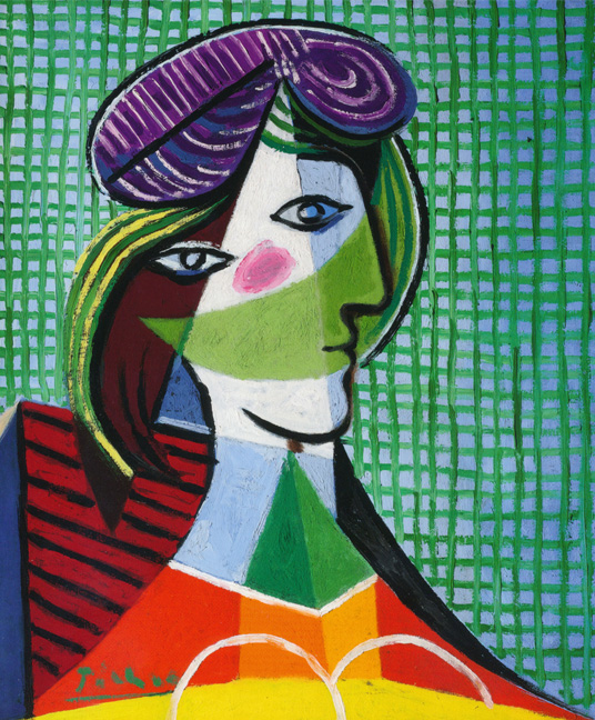 Picasso green girl