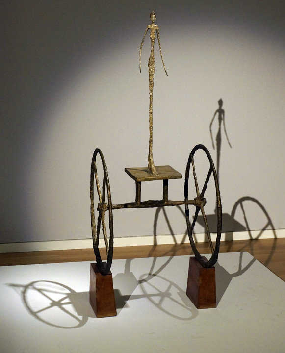 Chariot by Giacometti