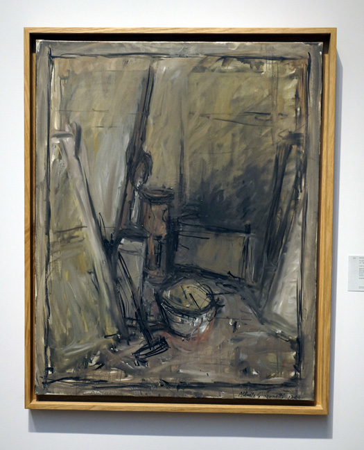 Giacometti painting