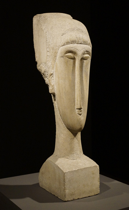 Head by Modigliani