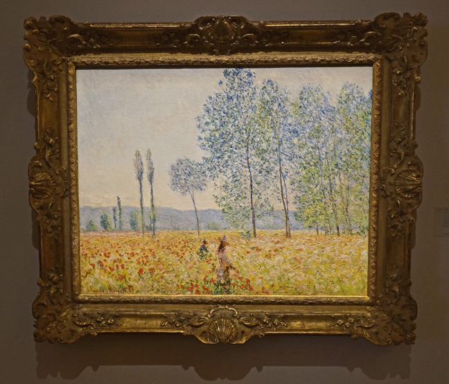 Monet yellow field