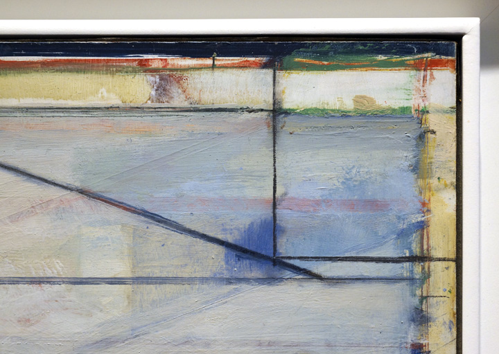 Detail of Diebenkorn ocean