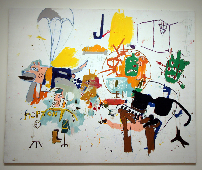 Basquiat white