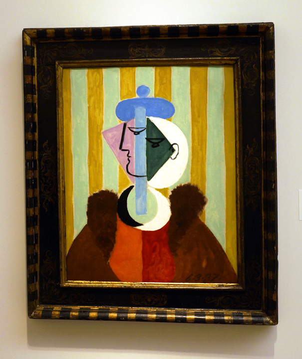 Woman with stripes by Picasso