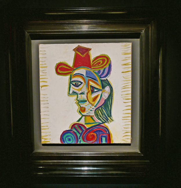 Picasso lady
