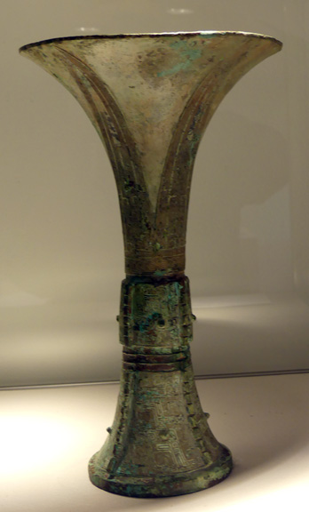 Shang wine vessel 901