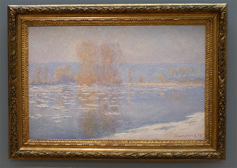 River Ice by Monet