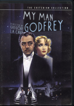 My Man Godfrey DVD cover