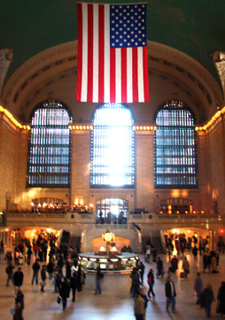 Great concourse of Grand Central