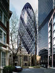 Swiss Re tower in London