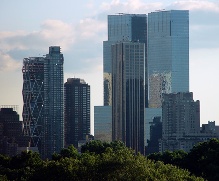 Skyline view from Central Park