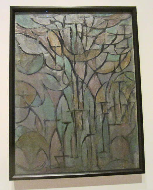 Trees by Mondrian