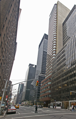 747 and 777 Third Avenue on the right