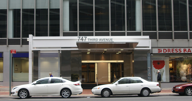 747 Third Avenue entrance