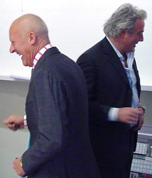 Sir Norman Foster and Aby Rosen
