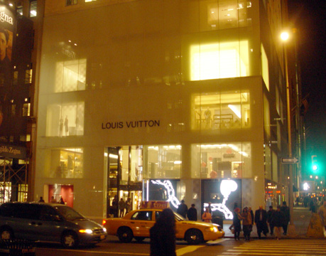 New Louis Vuitton facade