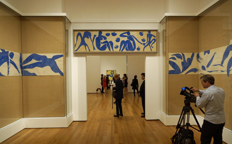 The Swimming Pool by Matisse