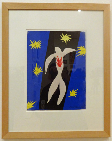 The Fall of Icarus by Matisse
