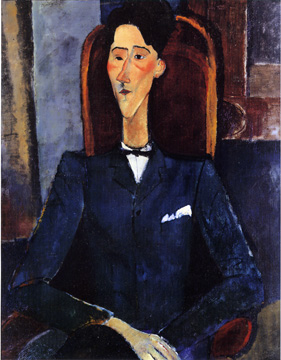 """Jean Cocteau"" by Amedeo Modigliani"