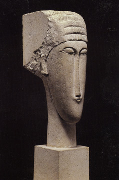 """Head"" by Amedeo Modigliani"