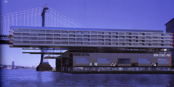 Nouvel's River Hotel project