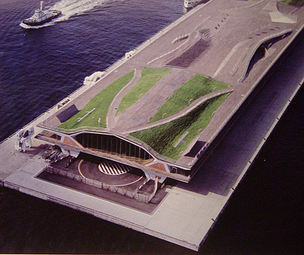 Yokohama International Port Terminal, Foreign Office Architecture