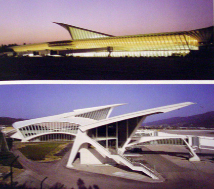 Sondika Airport in Bilbao by Calatrava